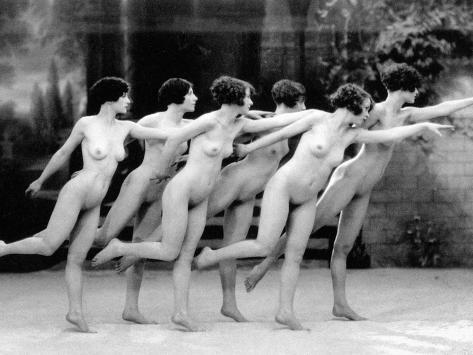 Allen: Chorus Line, 1920 Photographic Print