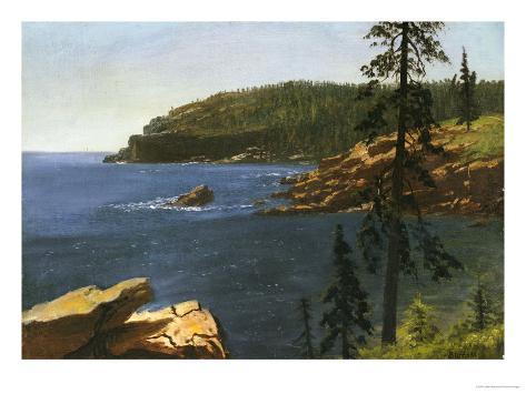 California Coast Giclee Print