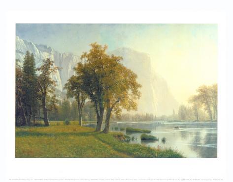 El Capitan, Yosemite Valley, California, 1875 Art Print