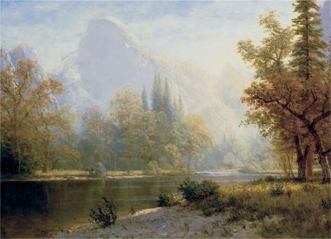 Half Dome, Yosemite Art Print