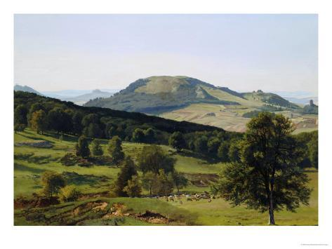 Landscape, Hill and Dale Giclee Print