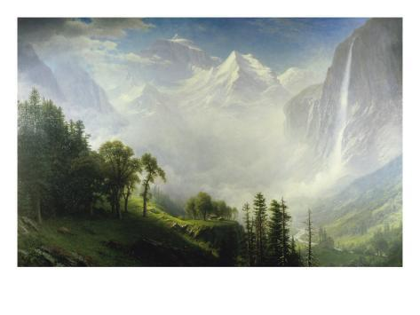 Majesty of the Mountains Giclee Print
