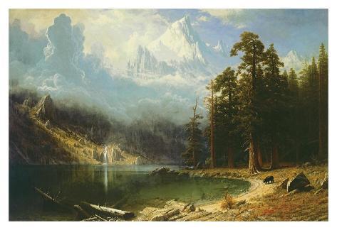 Mount Corcoran Art Print