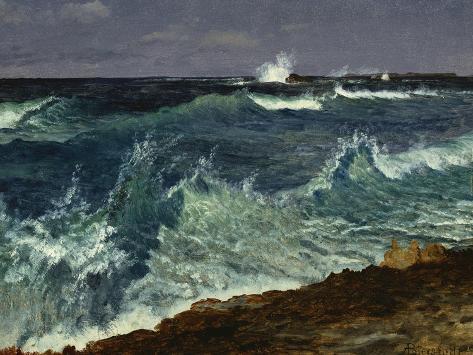 Seascape Giclee Print
