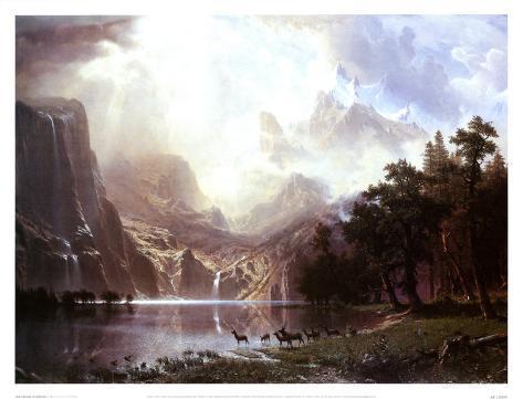 Sierra Nevada in California Art Print