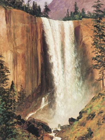 Yosemite Falls Premium Giclee Print