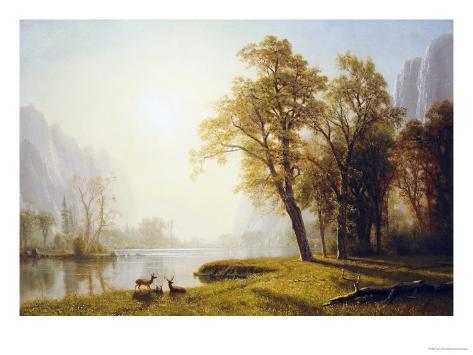 Yosemite Valley Giclee Print