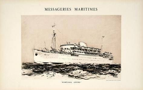 Mess Maritimes - Marechal Joffre Collectable Print