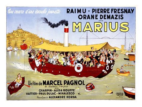 Marius Giclee Print