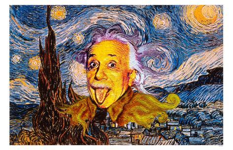 Albert Einstein Masterprint