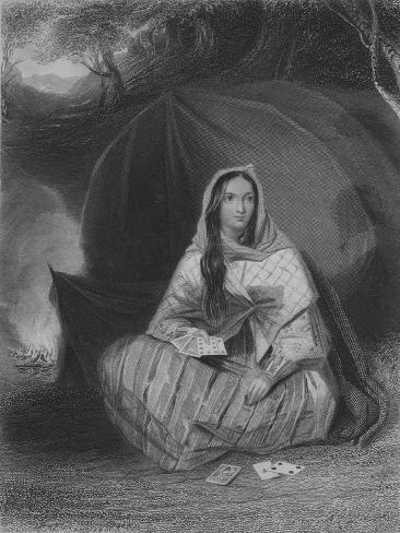 The Gipsy, c1850 Giclee Print