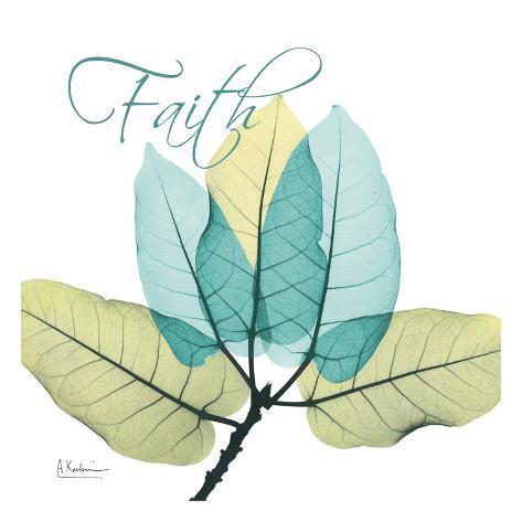 Faith Ficus Burkey Art Print