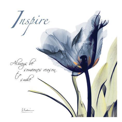 Tulip Inspire Art Print