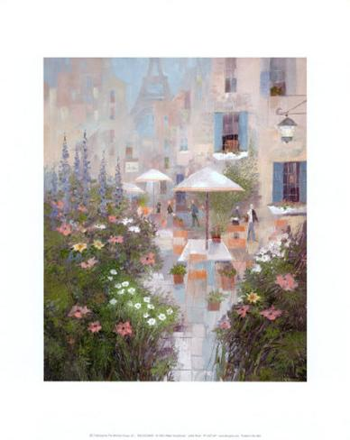 Jardin Rivoli Art Print