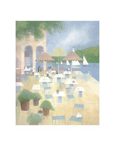 Lunch at the Yacht Club Art Print