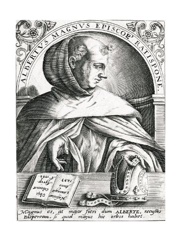 Albertus Magnus Stampa giclée