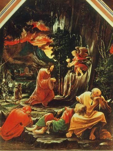 The Agony in the Garden, from the St. Florian Altarpiece, c.1515 Lámina giclée