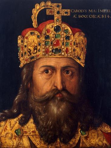 Charles the Great Lámina giclée