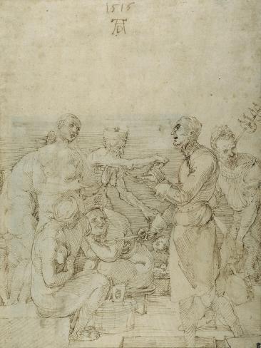 Madonna and Child, 1516 Impressão giclée