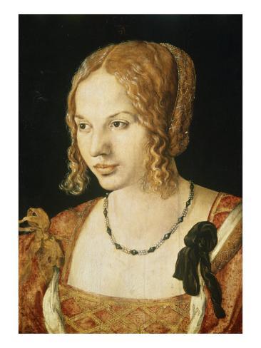 Portrait of a Venetian Lady Giclee Print