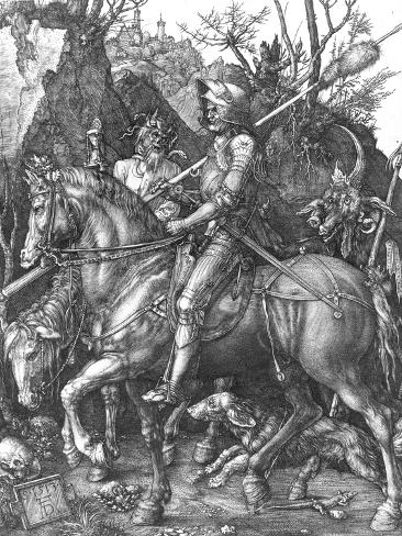 The Knight, Death and The Devil , c.1514 Giclee Print
