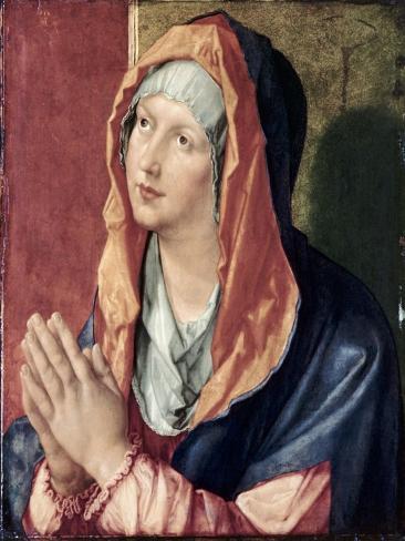 The Virgin Praying Giclee Print