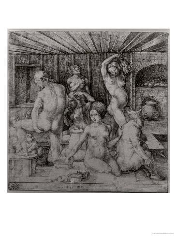The Women's Bath, 1496 Giclee Print