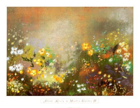Meadow Garden IV Art Print