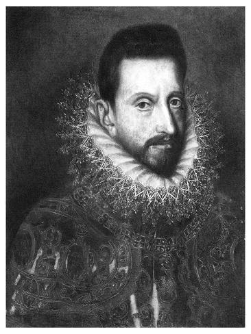 Alessandro Farnese, Duke of Parma, 16th Century Giclee Print