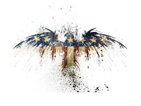 Eagles Become Art Print