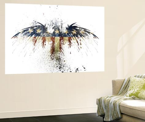 eagles become wall mural by alex cherry at