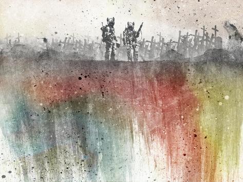 War Pigs Wallpaper Art Print