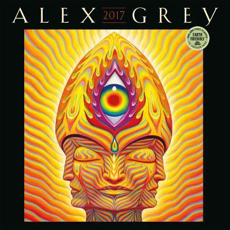 Alex Grey - 2017 Calendar Calendários