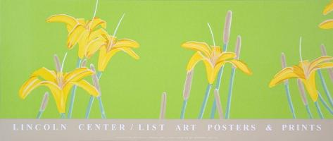 Day Lilies Serigraph