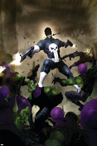 Punisher War Journal No.25 Cover: Punisher Poster