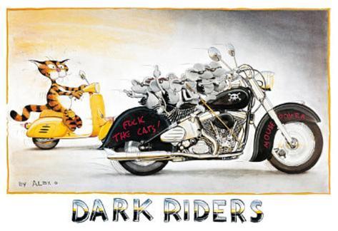 Alex Rinesch (Dark Riders) Art Poster Print Poster