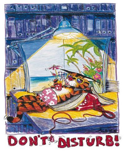 Alex Rinesch (Sugar, Don't Disturb!) Art Poster Print Mini Poster