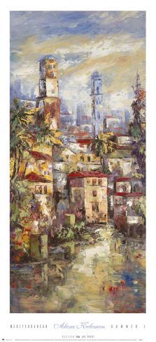 Mediterranean Summer I Art Print