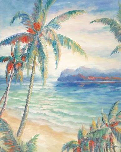 Tropical Breeze I Stretched Canvas Print