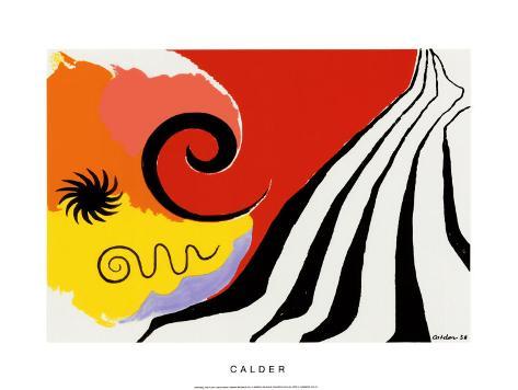 Pinwheel and Flow, c.1958 Serigraph