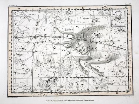 The Constellations Lámina giclée