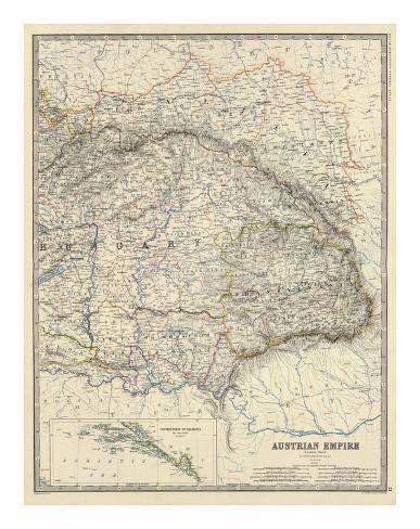 Austria East, c.1861 Art Print