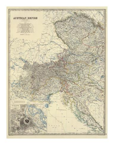 Austria West, c.1861 Art Print