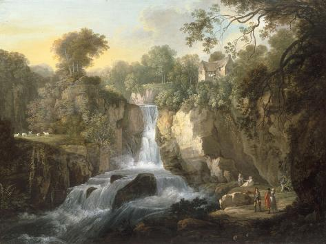The Falls of Clyde Giclee Print