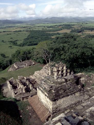 Yachilan, Mayan Ruins, Mexico Photographic Print