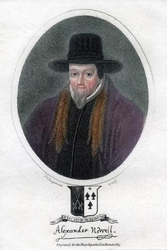 Alexander Nowell, English Clergyman and Theologian Giclee Print