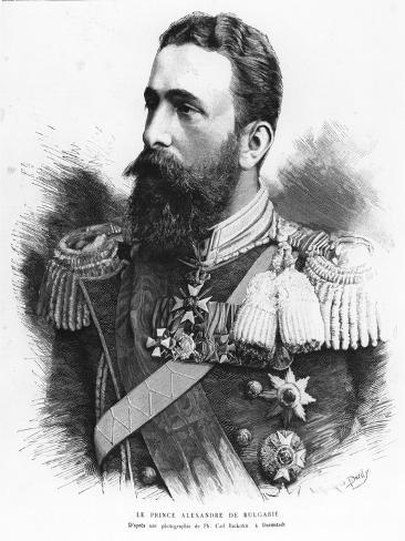 Alexander of Battenberg Stampa giclée