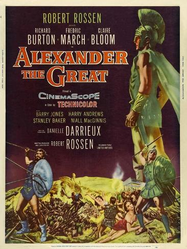Alexander the Great, 1956, Directed by Robert Rossen Giclee Print