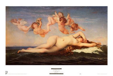 La Naissance de Venus Art Print