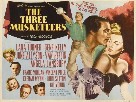 Alexandre Dumas' the Three Musketeers, 1948,